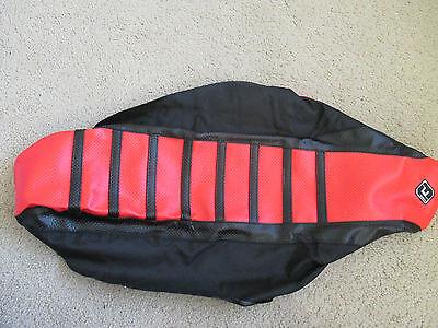 FLU Designs Inc 55501 Pro Rib Seat Covers Black//Orange 55501 Ribbed 0821-1838