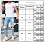 Mens-Stretch-Ripped-Skinny-Jeans-Destroyed-Frayed-Slim-Denim-Long-Pants-Trousers thumbnail 9