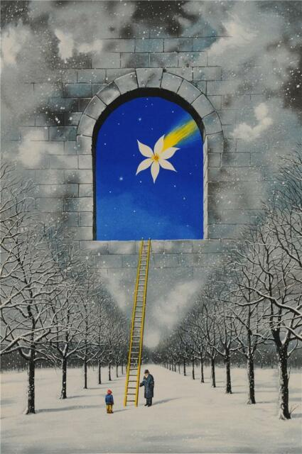 Rafal Olbinski Magical Transparency of Time Signed Fine Art Lithograph Ltd Ed S2