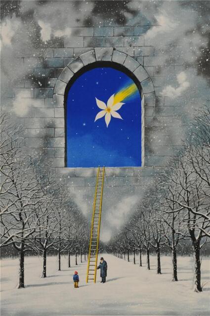 Rafal Olbinski Magical Transparency of Time Signed Fine Art Lithograph Ltd Ed S2