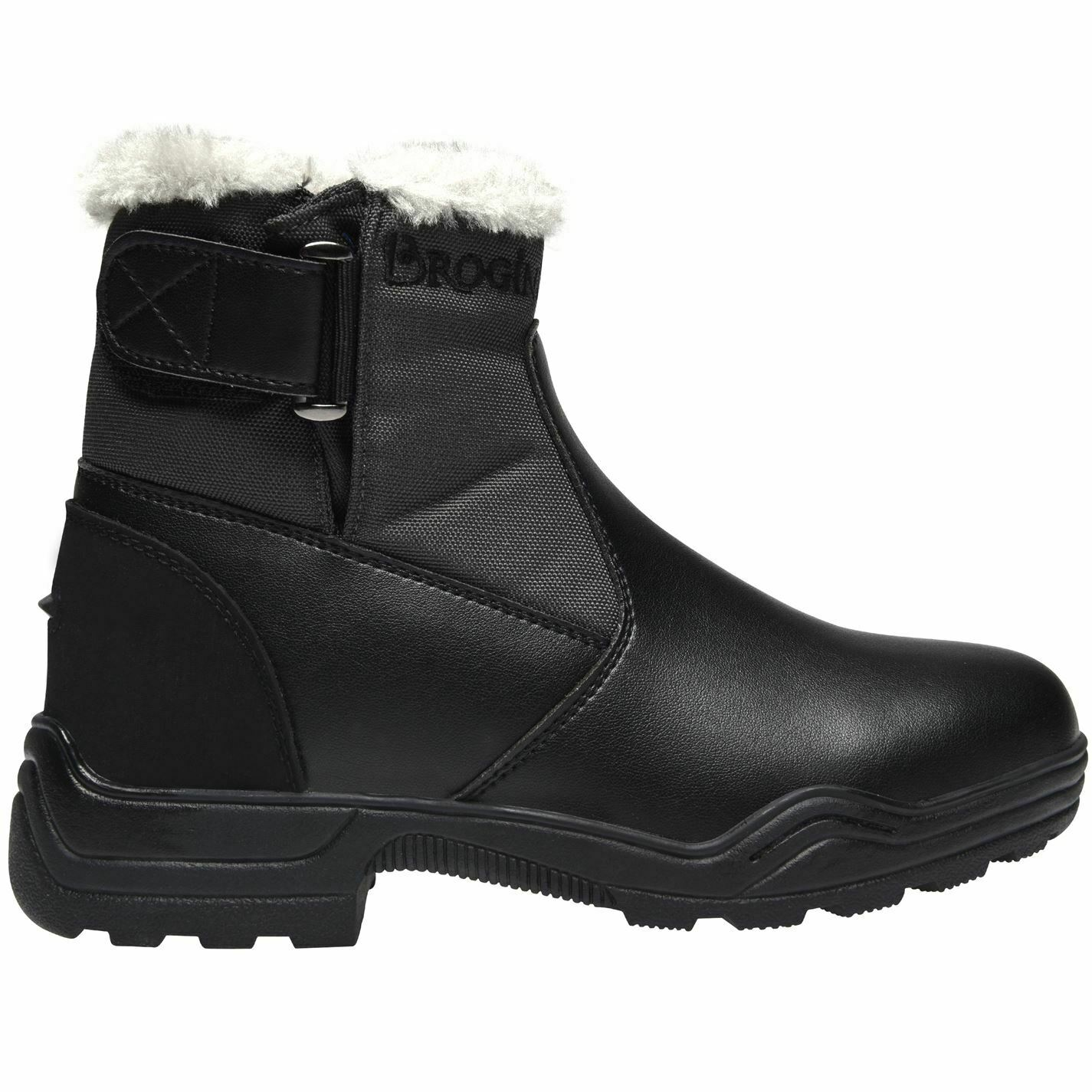Brogini Womannens Footwear Yard laarzen toevallig Winter Warme Leer