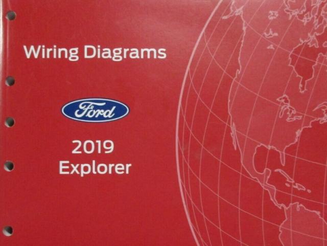 2019 Ford Explorer Wiring Electrical Diagram Manual Oem Factory Ewd Etm