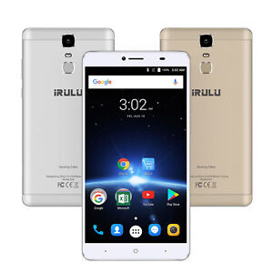 """iRULU G3 Max Smartphone 6.5"""" Android 7.0 Octa Core AT&T T-Mobile 32G GPS 4G+WiFi"""