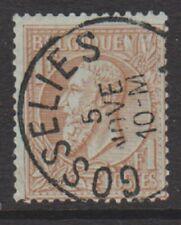 Belgium - 1884, 1f Red-Brown/Green - F/U - SG 76