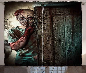 Zombie-Curtains-Evil-Eyes-Monster-Window-Drapes-2-Panel-Set-108x63-Inches