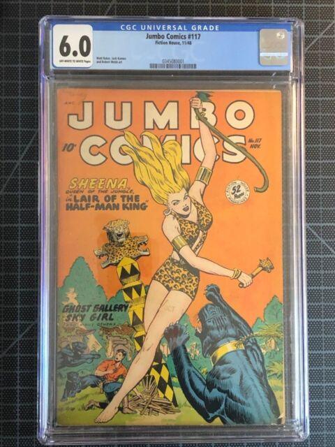 Jumbo Comics #117, Sheena, Golden Age Jungle/Adventure