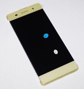 Original-Sony-Xperia-XA-F3116-LCD-Display-Bildschirm-Touchscreen-Limette-Gold