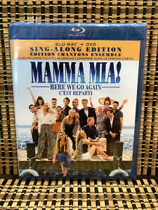 Mamma-Mia-2-Here-We-Go-Again-2-Disc-Blu-ray-DVD-2018-ABBA-Meryl-Streep
