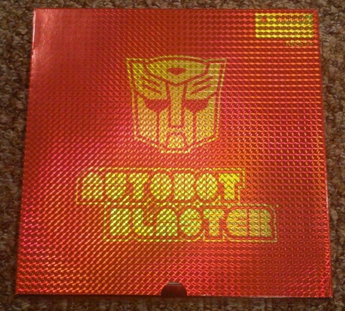 Transformers SDCC Reissue G1 AUTOBOT BLASTER w w w  cassettes Hasbro Exclusive Set 212599