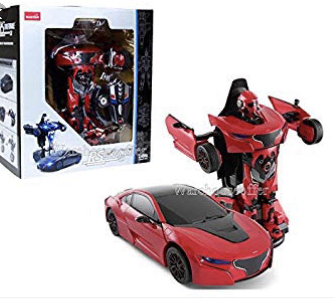 NEW Rastar RC 1 14 RS X MAN Transformers USB Radio REMOTE CONTROL TOY CAR ROBOT