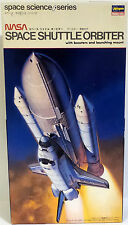 SPACE : NASA SPACE SHUTTLE ORBITER 1/200 SCALE MODEL KIT MADE BY HASEGAWA