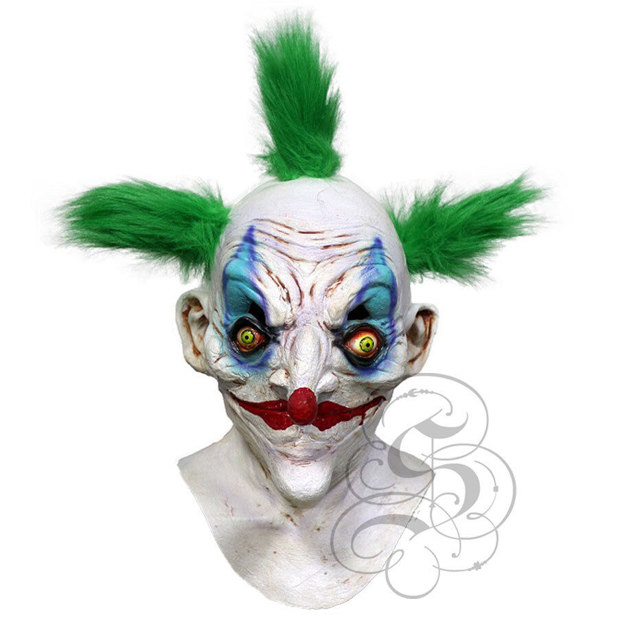 Popular Halloween /'Bobo The Sinister Killer Clown/' Horror Scary Evil Latex Mask