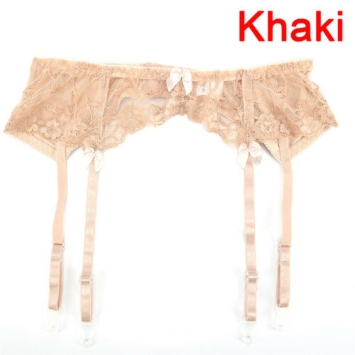 Women Lace Thigh-Highs Stockings Suspenders Garter Belt Suspender for Stockin TB