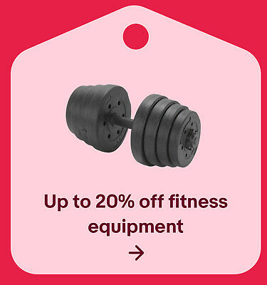 Up to 20% off fitness equipment