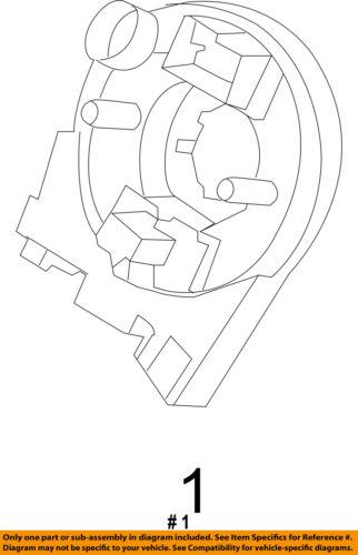 FORD OEM Airbag Air Bag-Clockspring Clock Spring GB5Z14A664D
