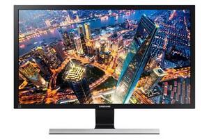 "Samsung Monitor U28E590D 4K UHD-LED-Display 71,12 cm (28"") 1 ms schwarz/silber"