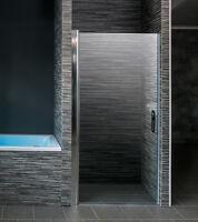 Duschtür In Nische Duschkabine Duschabtrennung Nischentür Glastür Dusche Ap1