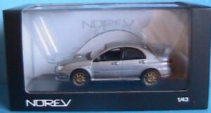 SUBARU-IMPREZA-WRX-STI-2006-GRISE-NOREV-800072-1-43-METAL-GREY-JAPAN-CAR