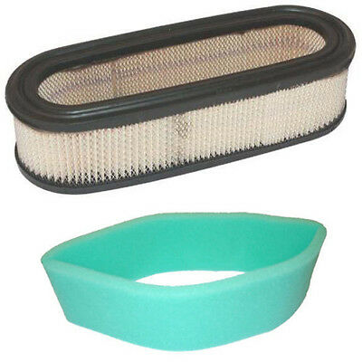 Air Filter and Pre-Cleaner filter for Briggs /& Stratton 394019S 272490s 398825