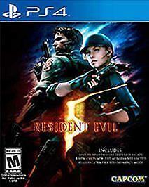 Resident-Evil-5-PS4-Brand-New-Factory-Sealed
