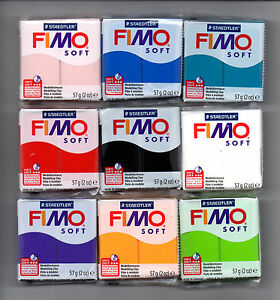FIMO-SOFT-56g-POLYMER-MODELLING-MOULDING-OVEN-BAKE-CLAY-CHOOSE-FROM-72-COLOURS