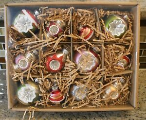 New Pottery Barn Mixed Vintage Mercury Christmas Holiday