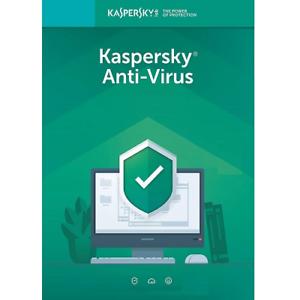 Kaspersky Antivirus Security 2019 3 PC 18 Months New Key Windows only