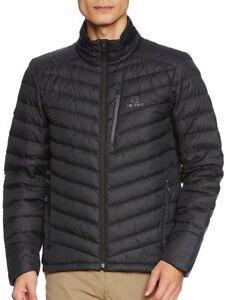 Salomon halo mens down jacket blue   eBay