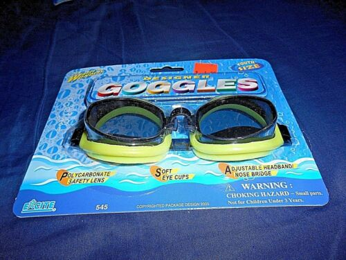 *NEW IN PACKAGE* EXCITE WATER WONDERS FLOATING SWIMMING GOGGLES YOUTH SIZE