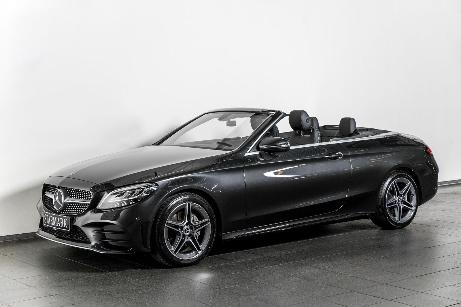 Mercedes C200 1,5 AMG Line Cabriolet aut. 2d - 664.900 kr.