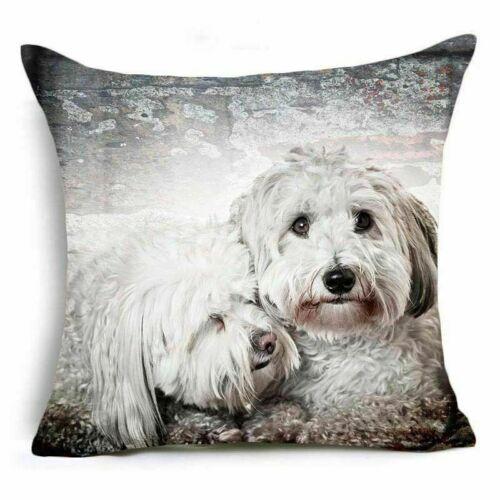 "18/""Animals Cover Cushion Sofa Throw Home Waist Decor PillowCase Cotton Linen"