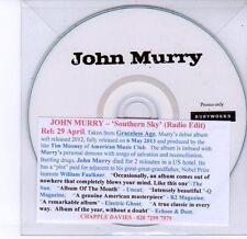 (DV281) John Murry, Southern Sky - DJ CD