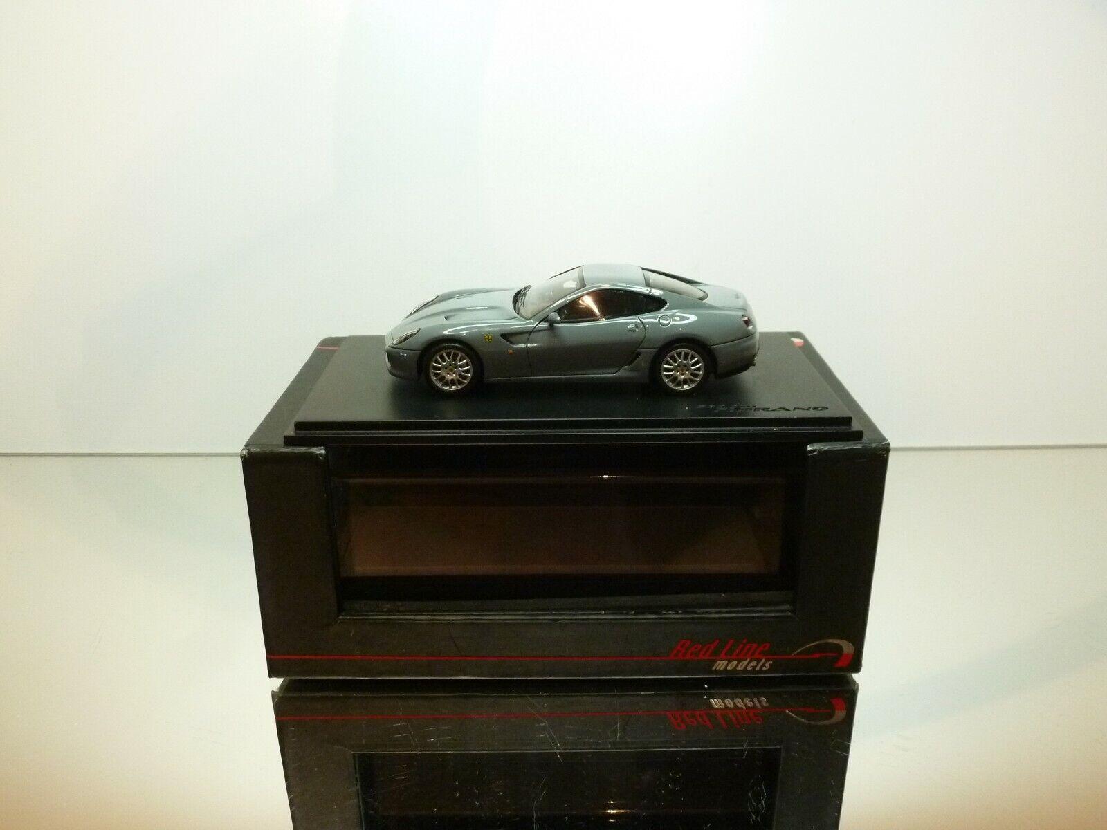 rosso LINE MODELS RL147 FERRARI 599 GTB FIORANO - RARE grigio 1 43 - EXCELLENT IB