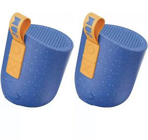 2 x Jam Chill Out Imperméable Portable Haut-parleurs Bluetooth-Bleu