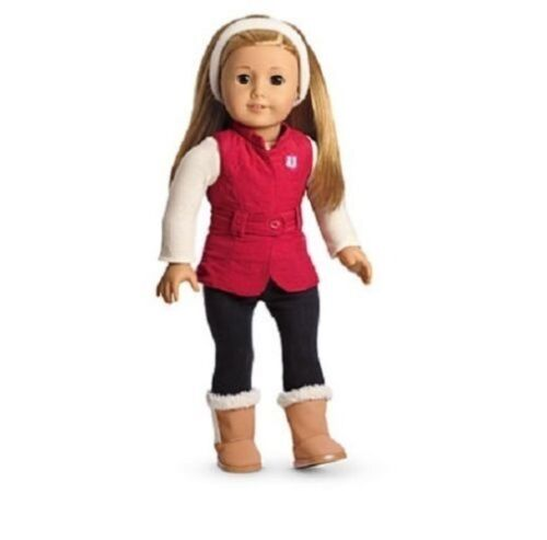American Girl SPORTY WINTER OUTFIT CHARM jacket boots NO DOLL pant JLY MYAG snow