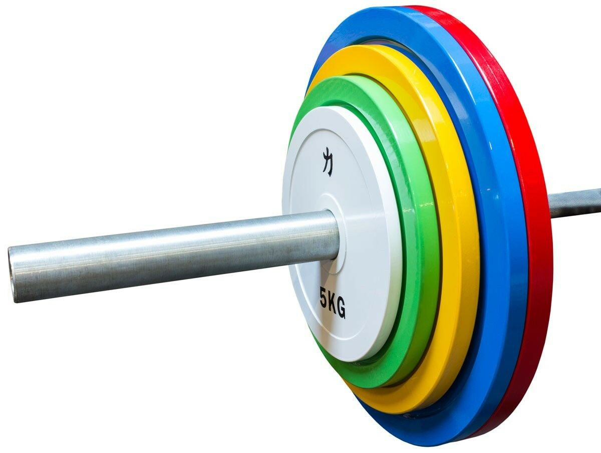 Strength Shop Extra Slim Colourot Steel Olympic Plate (Pair) - 0.5-25kg and sets