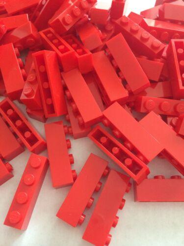 24 New Lego Bulk Lot 1x4 Red Bricks Blocks 1 X 4
