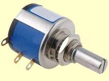 10 Gang Wendel-Poti Drahtpotentiometer Multiturn  mono linear 2W  10K  5%