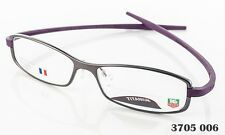 Tag Heuer TH 3705 006 Reflex Ceramic Eyeglasses Satine Anthracite/Violet NEW P