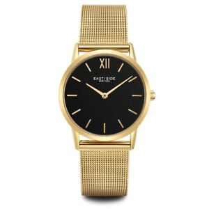 Eastside Armband-Uhr Damen Upper Union Edelstahl gelbgold Damen Uhren Damenuhren