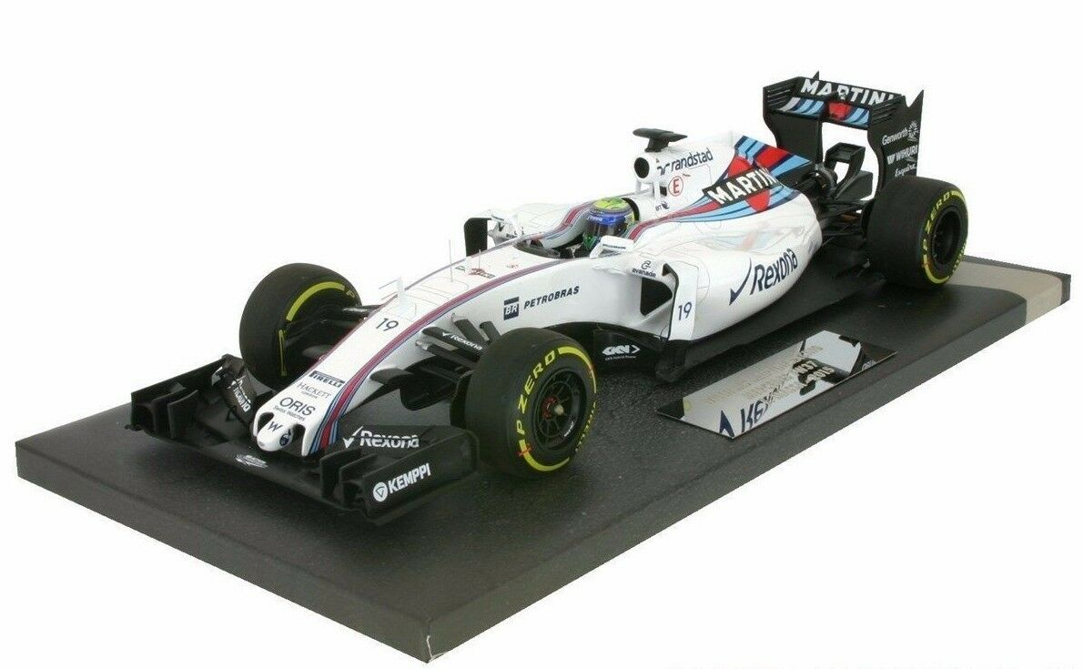 MINICHAMPS 1 18 FELIPE MASSE WILLIAMS F1 MARTINI MERCEDES FW37 2015 L.ÉDITION
