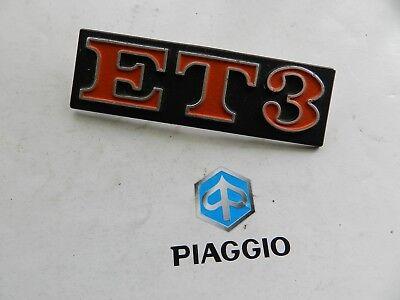158652 Targhetta Fregio Piaggio Vespa Et3 Telaio Vespa 125 Et3 Vmb1t Durevole In Uso