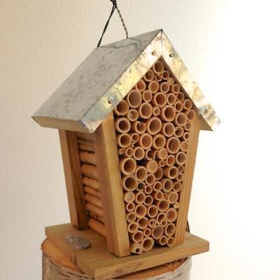 Bienenhotel zur Beobachtung von Bienen Bienenhaus für Biene oder Insektenhotel