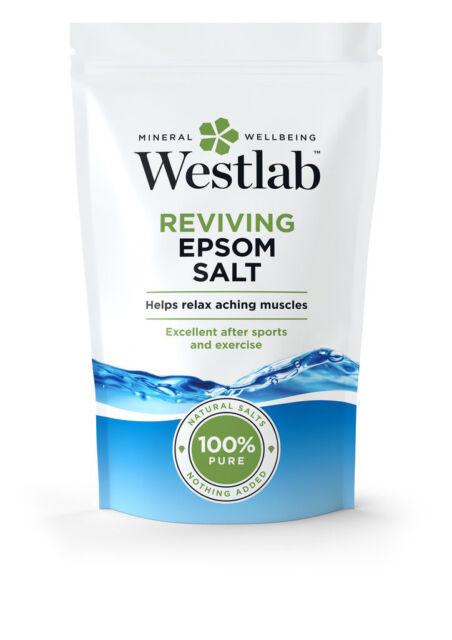 Westlab reavivar Epsom Sal de Baño 5KG - 100% sal natural