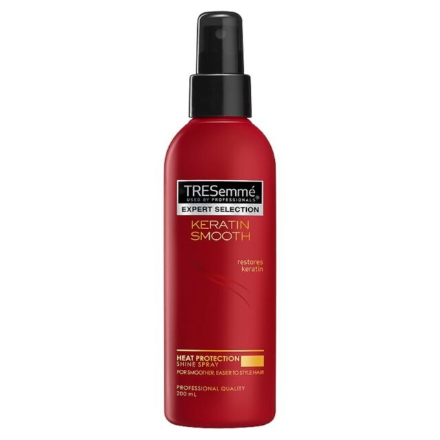 TRESemmé Keratin Smooth Heat Protection Shine Spray, 200ml FREE POSTAGE