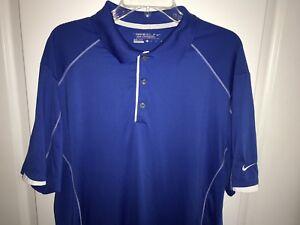 Nike-Golf-Tour-Performance-Dri-Fit-Polo-Shirt-Blue-Men-s-Size-XL