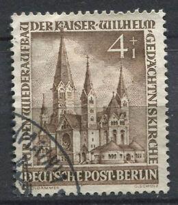 Berlin-1953-Mi-106-Used-100-4-1-Pf-reconstruction-of-the-Church