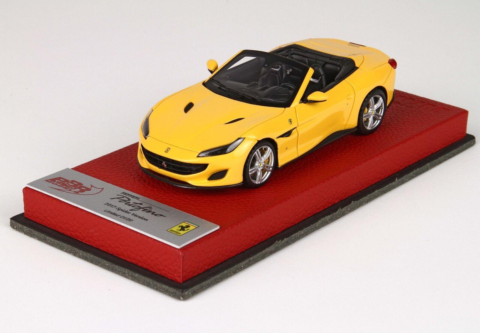 Ferrari Portofino Ferrari Portofino 7 jaune Lim.Ed. 20 pcs BBR 1 43 BBRC207CPRE