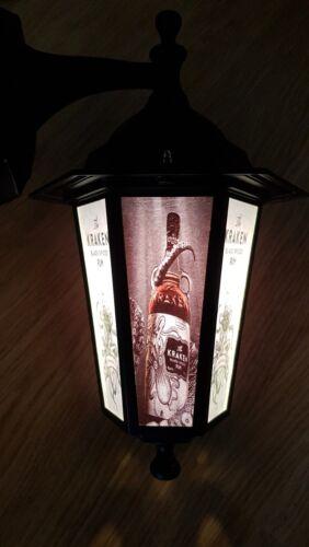 The kraken Rum light kraken Wall Light pub  LED bar light rum nautical