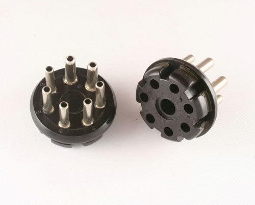 New Wire Pro Amphenol 12 Pin Black Phenolic Industrial Plug Octal Style 86PM12